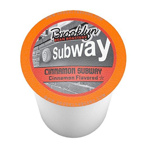 Brooklyn Bean Roastery Single-cup Coffee for Keurig K-cup Brewers, Cinnamon Subway, 40-count