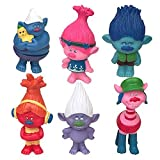 Uranus Cute! DreamWorks Trolls Poppy Doll Mini Figures Collectable Doll Choose Character Cake toppers