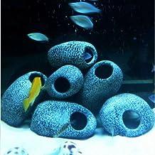 Generic Aquarium Cichlid Stones Ceramic Rock Cave Ornament Cichlid Stones Fish Tank Cichlid Stones Decoration