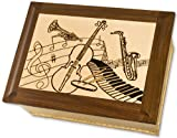 Maple Music Companion Wood Cremation Urn
