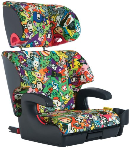Clek Oobr Special Edition Tokidoki Booster Seat, All Over front-10328