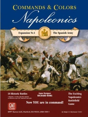 C&C Napoleonic Exp#1: Spanish Army 1114 by GMT Games