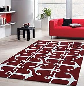 Rugaddiction 5 39 ft x 7 39 ft outdoor indoor for Water resistant outdoor rug