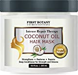 Coconut-Oil-Hair-Mask-88-fl-oz-Restorative-Hair-Mask-Deep-Conditioner-for-Damaged-Dry-Hair-Heals-Restructures-Hair-Shaft-Growth-Nourishes-Scalp-Removes-Residue-Buildup-Sulfate-Free