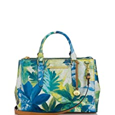 Small Lincoln Satchel<br>Blue Fiji
