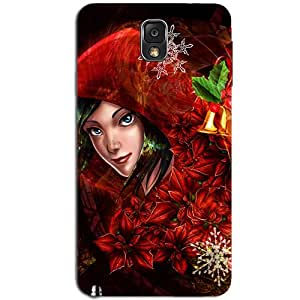 CLOWN GIRL BACK COVER FOR SAMSUNG GALAXY NOTE 3