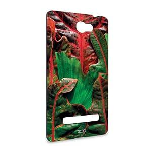 Handyschale Handycase für HTC Windows Phone 8S veredelt mit YOUNiiK Styling Skin - Fire Red Green