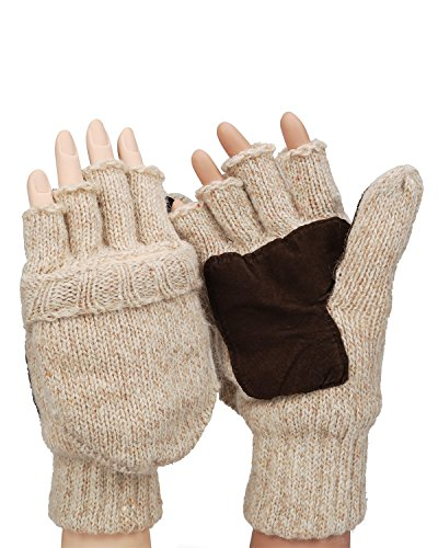 Metog Suede Thinsulate Thermal Mittens/Gloves