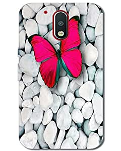 MobileGabbar Motorola Moto G4 Plus Back Cover Designer Hard Case