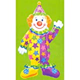"Happy Clown 44"" Airwalker Balloon"