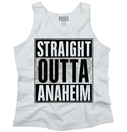 Straight Outta Anaheim, CA City Funny Movie T Shirts Gift Idea Tank Top Shirt (Party City In Anaheim Ca)
