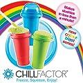 Chill Factor Squeeze Cup Slushy Maker - Colour Blast