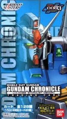 Carddass Masters Gundam Chronicle 0083 Stardust Memory BOX