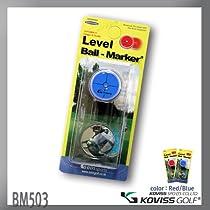 KOVISS GOLF Level Ball - Marker with Hat Clip
