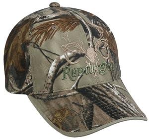 Remington Camo Deer Skull Logo Cap (17451)