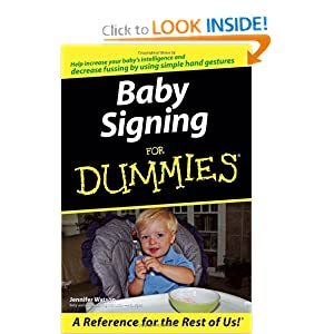 Baby Signing For Dummies Jennifer Watson