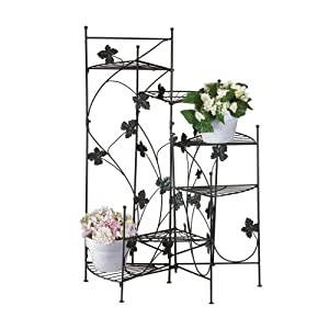 Use Climbing Vines Tiered Plant Stand For An