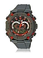 Nautec No Limit Reloj de cuarzo Man Sw Qz-Ad/Pcbkpcbkbk-Rd 48 mm
