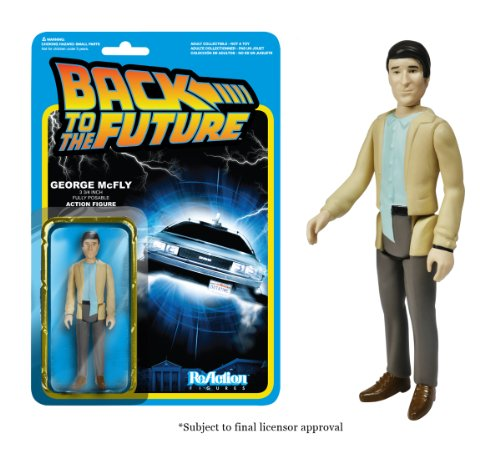 Funko Back to The Future George McFly ReAction Figure - 1
