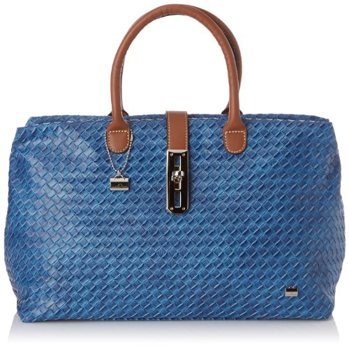 La Bagagerie Women's Shop Ntre Top-Handle Bag Blue blue Taille Unique