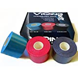 ViQing Gear Kinesiology Tape 3-pack - Muscle / Sports / Athletic / Battle Tape