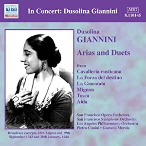 Dussolina Giannini sings Arias and Duets