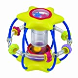 Manhattan Toy Whoozit Galaxy Star Activity Ball (Yellow)