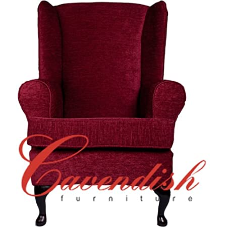 "Orthopedic High Seat Chairs in 21"" or 19"" Seat Heights. Ruby Chenille Fabric (19"" Seat Height)"