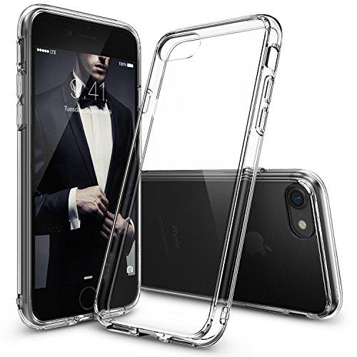 Custodia-iPhone-7-Ringke-FUSION-Crystal-Clear-PC-Ritornare-TPU-Goccia-di-protezione-Shock-tecnologia-ad-assorbimento-Cresciuto-Protective-Cover-Bezels-per-Apple-iPhone-7-2016-Crystal-View