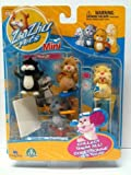 Zhu Zhu Pets Mini Figurine 4 Pack - Winkie, Mr. Squiggles, Pipsqueak, & Yo Yo