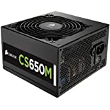 Corsair CS Series 650 Watt ATX Modular and Efficient Power Supply CS650M