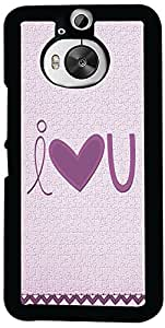 Printvisa I Love You Case Cover for HTC One M9+ (2D-HTCM9+-D7847)