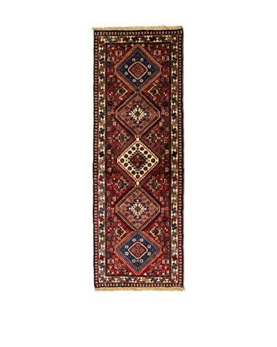 Rugsense Alfombra Persian Yalameh Marfil/Azul/Rojo