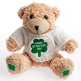 Happy St. Patricks s Day Plush 8 Bear In Sweater