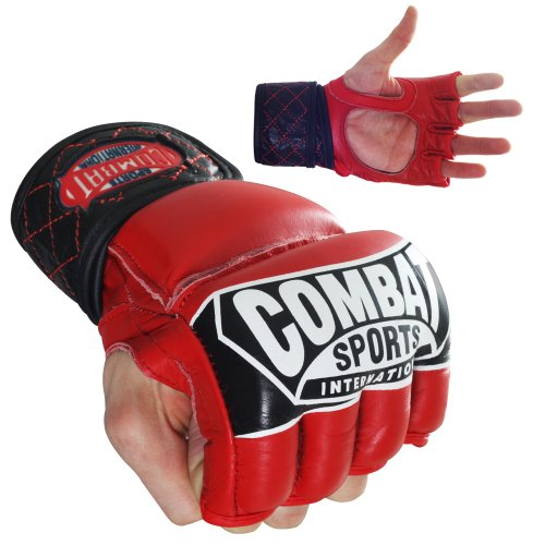 Combat Sports Pro-Style MMA Gloves new mma gloves grappling martial arts leather genuine cowhide punching bag mitts sparring cage fighting combat training