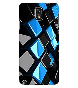 ColourCraft Abstract image Design Back Case Cover for SAMSUNG GALAXY NOTE 3