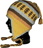 Authentic Soul Casual Sport Wool knit Beanie Earflap Sherpa Hat