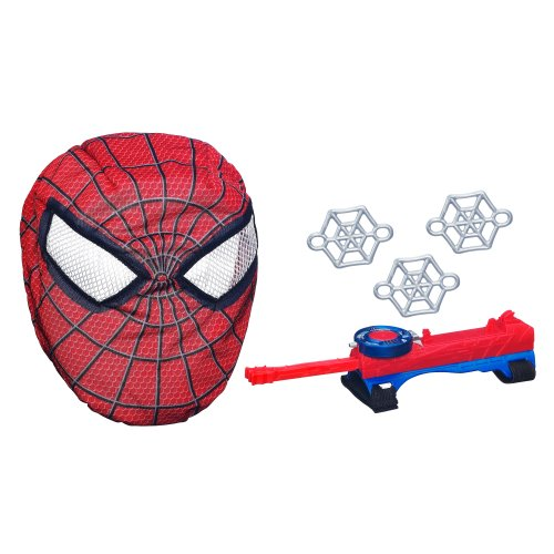 The Amazing Spider-Man Stretchy Web Shooter and Mask