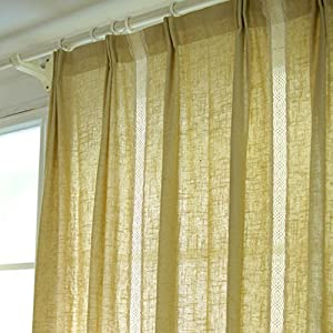 amazon com fadfay window curtain curtains for living room