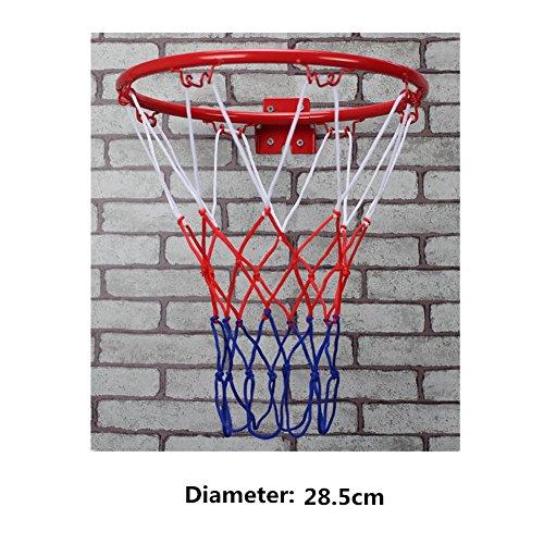 SwirlColor Indoor & Outdoor Hanging parete obiettivo di basket anello del cerchio pensione per bambini