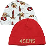 NFL San Francisco 49ers Infant Cap Set, Pack of 2, 0-6 Months