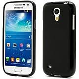 iProtect TPU Gel Schutzhülle Samsungs Galaxy S4 mini Case jelly schwarz