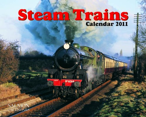 2011 Transport Calendars: Steam Trains - 12 Month - 24.8x19.7cm
