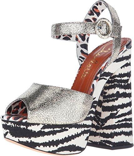 charlotte-olympia-sandalias-de-vestir-para-mujer-color-plateado-talla-40