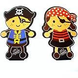 Notizblock Kleiner Pirat, Piratenfigur