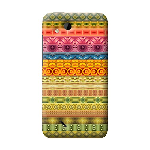 Garmor Rajasthani Pattern Plastic Back Cover For HTC Desire VC(Rajasthani Pattern 1 )