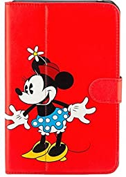 Disney Minnie Mouse Folio Case for Ellipsis 8