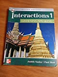 img - for Interactions 1 Listening/Speaking, Silver Edition (Student Book with Audio CD) book / textbook / text book