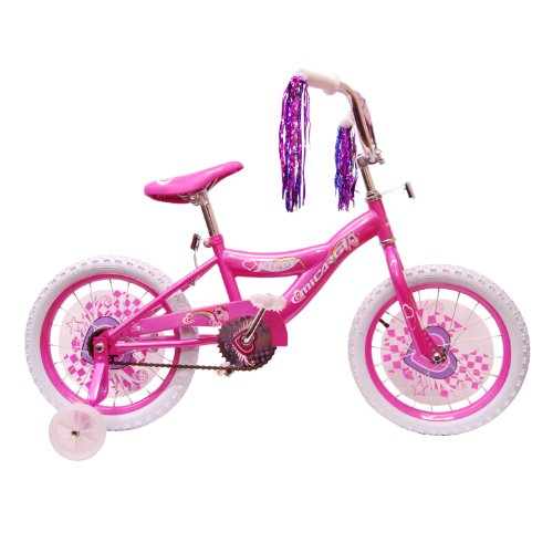 Micargi Kid's Cruiser Bike, Pink, 16-Inch