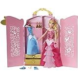 Disney Princess Sparkle Wardrobe Sleeping Beauty Case